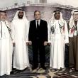 Florentino Pérez, presente en el encuentro de peñas en Abu Dabi