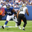 Why the New York Giants are relaxed over their under-pressure offensive line