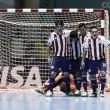 Ucrania y Paraguay consiguen la primera victoria
