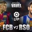 FC Barcelona-Real Sociedad: quién interrumpirá el 'showtime'