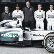 Mercedes presenta oficialmente el W06