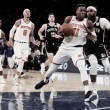 New York Knicks blow out neighbors Brooklyn Nets 107-86