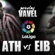 Previa Athletic - Eibar: derbi de altos vuelos