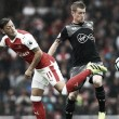 Arsenal 2-1 Southampton: Controversial late penalty hands Gunners the victory