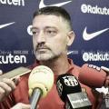 """García Pimienta: """"Si no estamos cien por cien durante los 90 minutos será muy difícil ganar"""""""