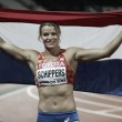 World Athletics Championships: Dafne Schippers successfully defends 200m title