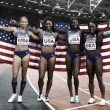 World Athletics Championships: American quartet seal women's 4x100m title