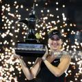 WTA Dubai: Belinda Bencic caps fairytale week with title over Petra Kvitova