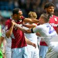 Leeds United 1-1 Aston Villa: Points shared after astonishing scenes at Elland Road