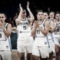 El combinado argentino se despide de su hinchada con mucha tristeza por quedarse fuera del Mundial. Foto: FIBA