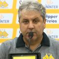 """Após primeira vitória pelo Criciúma, Kleina exalta elenco: """"Mentalidade vencedora"""""""