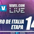 Resultado de la decimocuarta etapa del Giro de Italia 2017: los candidatos tiemblan con Dumoulin