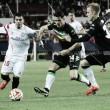 Ojeando al rival: Un Gladbach con pie y medio en Europa League