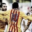 Malaga CF 1-2 FC Barcelona: Barcelona get crucial away win