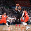 NBA Playoffs 2017, Houston corsara a OKC (113-109)