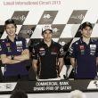 Rueda de prensa del GP de Qatar de MotoGP 2015
