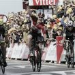 Tour de France 2015: Greipel wins stage two, with Fabian Cancellara taking the yellow jersey