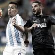 El Málaga CF dejó escapar la victoria en la última visita del Granada CF