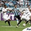 Grêmio domina duelo com Atlético-MG, mas Robinho aproveita e empata no fim