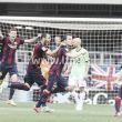 El Barça B aparca su mala racha gracias a un hueco berciano