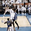 Durant y Westbrook sacan ventaja a los 'Splash Brothers'