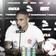 Com foco total na final da Copa do Brasil, Guerrero afirma que foi difícil ficar fora do primeiro jogo