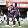 Victoria del FC Barcelona antes de recibir al Bayern Múnich