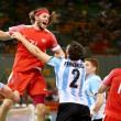 Argentina no pudo con Dinamarca