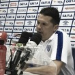 """Claudinei exalta atuação do Avaí e lamenta desperdícios no empate: """"Fizemos Diego Alves trabalhar"""""""