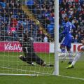 Junior Hoilett slots it past Lukasz Fabianski via Getty Images