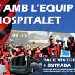 El CF Reus Deportiu anima a los suyos a desplazarse a L'Hospitalet
