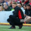 Eddie Howe gracious in defeat following Bournemouth's hammering at the hands of Liverpool