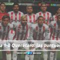 Puntuaciones de Necaxa en la jornada 17 de la Liga MX CL19