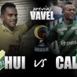 Atlético Huila - Deportivo Cali: hacer el deber antes de especular