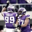 La defensa de Minnesota rompe el ataque de McVay