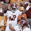 Number one Alabama Crimson Tide routes Tennessee Vols 49-10 at Neyland Stadium