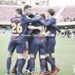La última victoria del Barça B ante el Nàstic fue por la mínima