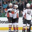 Enroth Allows Three Goals as Stars Fall to Ducks
