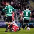 O jogo. Braga VS Sporting