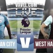 Resultado Manchester City vs West Ham en directo online en Premier League 2016