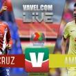 Resultado VeracruzvsAmérica en Liga MX (1-1)