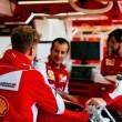 Gp d'Austria, sostituito il cambio sulla Ferrari di Vettel. Arretrato di 5 posizioni
