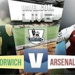 Norwich City vs Arsenal Live Score Stream Commentary of Premier League 2015 (0-0)