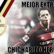 "Mejor Extranjero de la Bundesliga 2015-2016: Javier ""Chicharito"" Hernández"