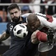 Cara a cara: Olivier Giroud vs Nicolai Jørgensen
