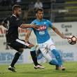 Napoli - Virtus Entella 5-0: azzurri in grandissima forma