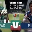 Jaguares Chiapas vs Puebla en vivo minuto a minuto en partido Liga MX 2016 (0-0)