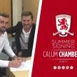 Chambers, cedido al Middlesbrough buscando minutos