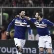 La Sampdoria se impuso en un Derby Della Lanterna eléctrico