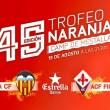 El Valencia pone a la venta las entradas para el Trofeo Naranja